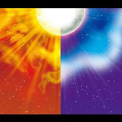 Ay Güneş (İlk Dördün) Karesi