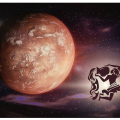 Mars Kova Burcuna Geçiş Yapıyor