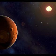 Güneş ile Mars Karşılaşması