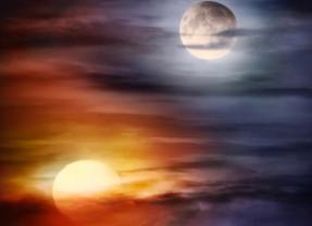 Ay ve Güneş Karşılaşması